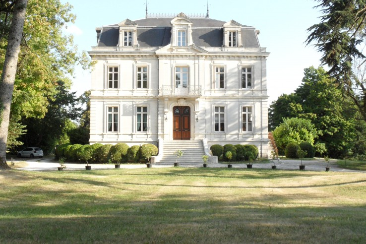 19th Century French Mansion In Grande Champagne