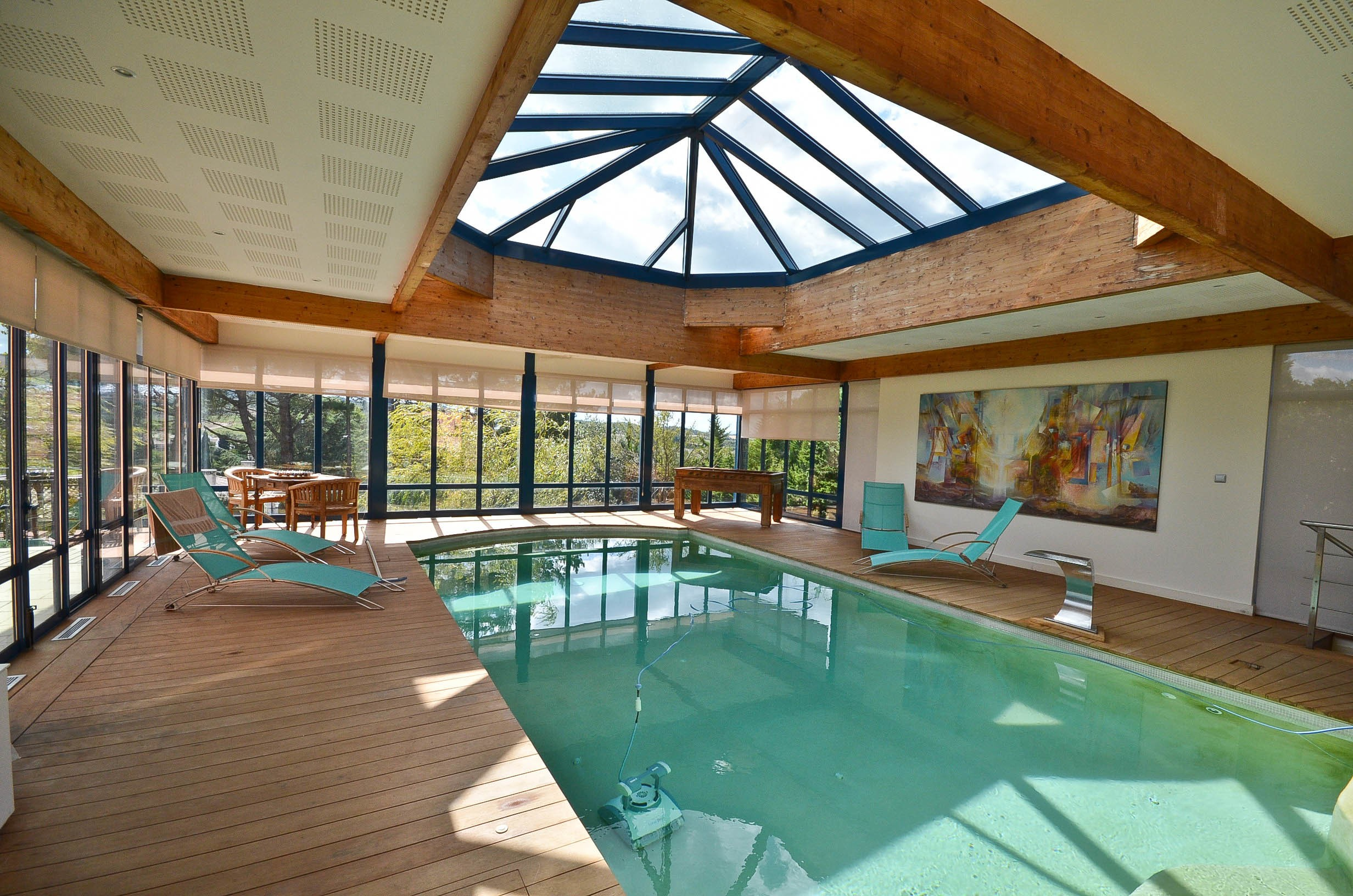 One of a kind luxury villa with views and 2 pools for sale for France pools
